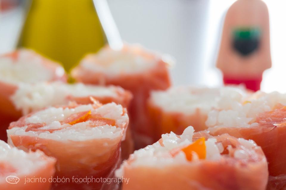 Sushi ibérico