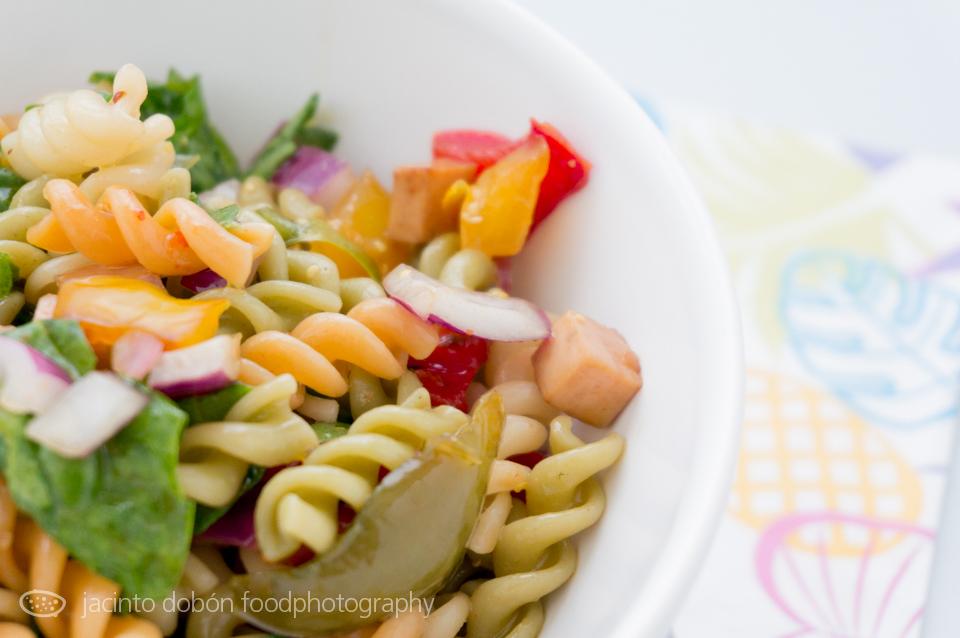 Ensalada de pasta tri-tri-color