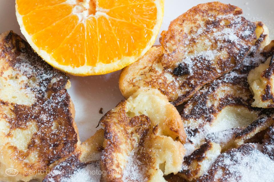 Torrijas a la naranja de Picanya